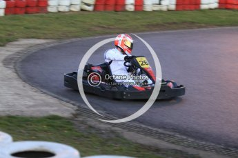 © Octane Photographic Ltd. 2011. Milton Keynes Daytona Karting, Forget-Me-Not Hospice charity racing. Sunday October 30th 2011. Digital Ref : 0194cb7d0109