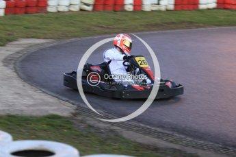 © Octane Photographic Ltd. 2011. Milton Keynes Daytona Karting, Forget-Me-Not Hospice charity racing. Sunday October 30th 2011. Digital Ref : 0194cb7d0109