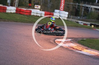 © Octane Photographic Ltd. 2011. Milton Keynes Daytona Karting, Forget-Me-Not Hospice charity racing. Sunday October 30th 2011. Digital Ref : 0194cb7d0152