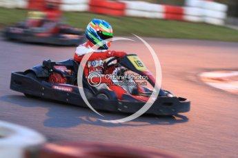 © Octane Photographic Ltd. 2011. Milton Keynes Daytona Karting, Forget-Me-Not Hospice charity racing. Sunday October 30th 2011. Digital Ref : 0194cb7d0178
