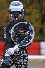© Octane Photographic Ltd. 2011. Milton Keynes Daytona Karting, Forget-Me-Not Hospice charity racing. Chris van der Drift. Sunday October 30th 2011. Digital Ref : 0194cb7d8246