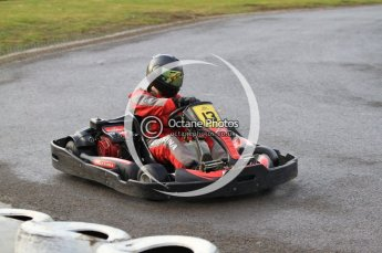 © Octane Photographic Ltd. 2011. Milton Keynes Daytona Karting, Forget-Me-Not Hospice charity racing. Sunday October 30th 2011. Digital Ref : 0194cb7d8315