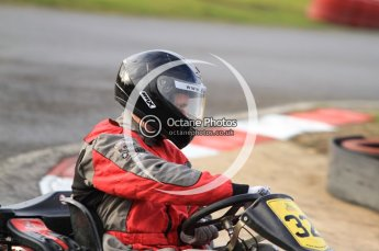 © Octane Photographic Ltd. 2011. Milton Keynes Daytona Karting, Forget-Me-Not Hospice charity racing. Sunday October 30th 2011. Digital Ref : 0194cb7d8334