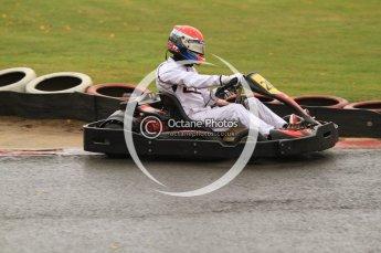 © Octane Photographic Ltd. 2011. Milton Keynes Daytona Karting, Forget-Me-Not Hospice charity racing. Sunday October 30th 2011. Digital Ref : 0194cb7d8813