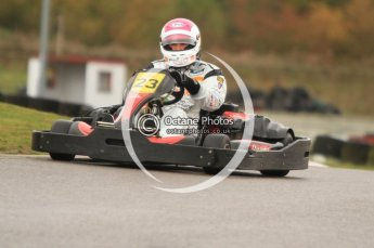© Octane Photographic Ltd. 2011. Milton Keynes Daytona Karting, Forget-Me-Not Hospice charity racing. Sunday October 30th 2011. Digital Ref : 0194cb7d8837
