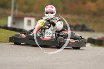 © Octane Photographic Ltd. 2011. Milton Keynes Daytona Karting, Forget-Me-Not Hospice charity racing. Sunday October 30th 2011. Digital Ref : 0194cb7d8837