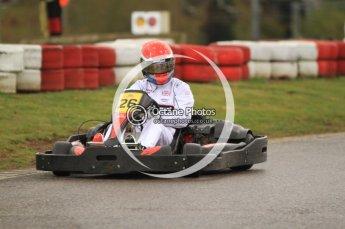 © Octane Photographic Ltd. 2011. Milton Keynes Daytona Karting, Forget-Me-Not Hospice charity racing. Sunday October 30th 2011. Digital Ref : 0194cb7d8841