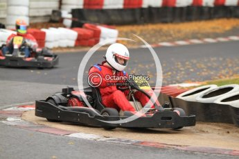 © Octane Photographic Ltd. 2011. Milton Keynes Daytona Karting, Forget-Me-Not Hospice charity racing. Sunday October 30th 2011. Digital Ref : 0194cb7d9017