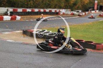 © Octane Photographic Ltd. 2011. Milton Keynes Daytona Karting, Forget-Me-Not Hospice charity racing. Sunday October 30th 2011. Digital Ref : 0194cb7d9040