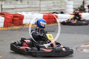 © Octane Photographic Ltd. 2011. Milton Keynes Daytona Karting, Forget-Me-Not Hospice charity racing. Sunday October 30th 2011. Digital Ref : 0194cb7d9053