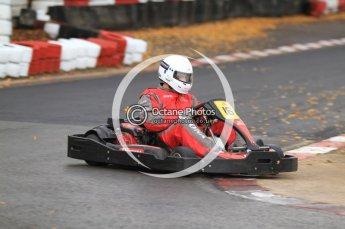© Octane Photographic Ltd. 2011. Milton Keynes Daytona Karting, Forget-Me-Not Hospice charity racing. Sunday October 30th 2011. Digital Ref : 0194cb7d9159