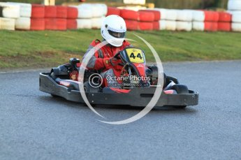 © Octane Photographic Ltd. 2011. Milton Keynes Daytona Karting, Forget-Me-Not Hospice charity racing. Sunday October 30th 2011. Digital Ref : 0194cb7d9523