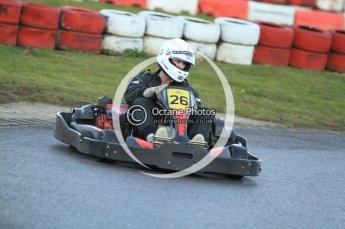 © Octane Photographic Ltd. 2011. Milton Keynes Daytona Karting, Forget-Me-Not Hospice charity racing. Sunday October 30th 2011. Digital Ref : 0194cb7d9749