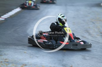 © Octane Photographic Ltd. 2011. Milton Keynes Daytona Karting, Forget-Me-Not Hospice charity racing. Sunday October 30th 2011. Digital Ref : 0194cb7d9819