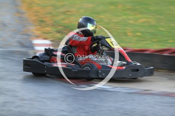 © Octane Photographic Ltd. 2011. Milton Keynes Daytona Karting, Forget-Me-Not Hospice charity racing. Sunday October 30th 2011. Digital Ref : 0194cb7d9885