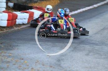 © Octane Photographic Ltd. 2011. Milton Keynes Daytona Karting, Forget-Me-Not Hospice charity racing. Sunday October 30th 2011. Digital Ref : 0194cb7d9902