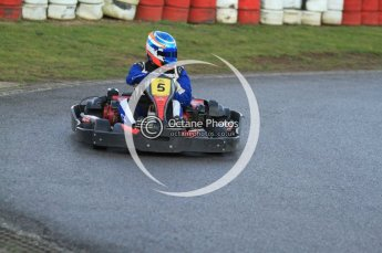© Octane Photographic Ltd. 2011. Milton Keynes Daytona Karting, Forget-Me-Not Hospice charity racing. Sunday October 30th 2011. Digital Ref : 0194cb7d9917