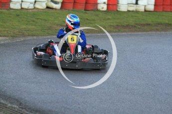 © Octane Photographic Ltd. 2011. Milton Keynes Daytona Karting, Forget-Me-Not Hospice charity racing. Sunday October 30th 2011. Digital Ref : 0194cb7d9917