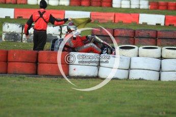 © Octane Photographic Ltd. 2011. Milton Keynes Daytona Karting, Forget-Me-Not Hospice charity racing. Sunday October 30th 2011. Digital Ref : 0194cb7d9957