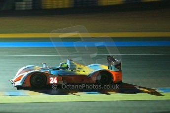 © Octane Photographic 2011. Le Mans night qualifying 9th June 2011. La Sarthe, France. Digital Ref : 0077CB1D0857