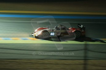 © Octane Photographic 2011. Le Mans night qualifying 9th June 2011. La Sarthe, France. Digital Ref : 0077CB1D0969