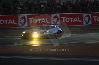 © Octane Photographic 2011. Le Mans night qualifying 9th June 2011. La Sarthe, France. Digital Ref : 0077CB7D0538