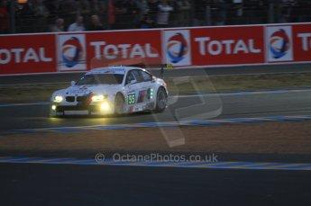 © Octane Photographic 2011. Le Mans night qualifying 9th June 2011. La Sarthe, France. Digital Ref : 0077CB7D0554