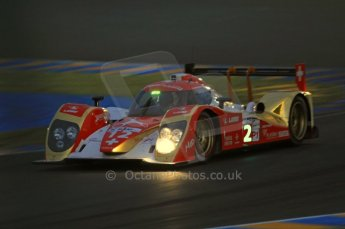 © Octane Photographic 2011. Le Mans night qualifying 9th June 2011. La Sarthe, France. Digital Ref : 0077CB7D0599