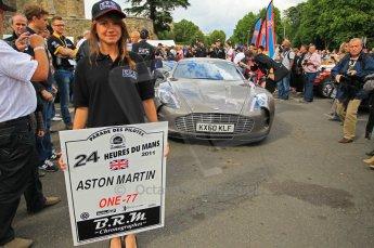 © Octane Photographic 2011. Le Mans Drivers' parade, 10th June 2011. Digital Ref : 0078CB1D1184