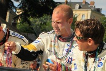 © Octane Photographic 2011. Le Mans Drivers' parade, 10th June 2011. Digital Ref : 0078CB1D1245