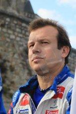 © Octane Photographic 2011. Le Mans Drivers' parade, 10th June 2011. Olivier Panis. Digital Ref : 0078CB1D1407