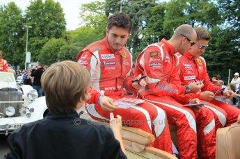 © Octane Photographic 2011. Le Mans Drivers' parade, 10th June 2011. Digital Ref : 0078CB1D1569