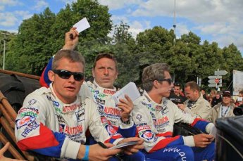 © Octane Photographic 2011. Le Mans Drivers' parade, 10th June 2011. Digital Ref : 0078CB1D1059
