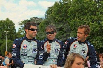 © Octane Photographic 2011. Le Mans Drivers' parade, 10th June 2011. Digital Ref : 0078LW7D5088