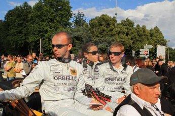 © Octane Photographic 2011. Le Mans Drivers' parade, 10th June 2011. Digital Ref : 0078LW7D5091