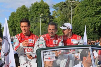 © Octane Photographic 2011. Le Mans Drivers' parade, 10th June 2011. Digital Ref : 0078LW7D5136