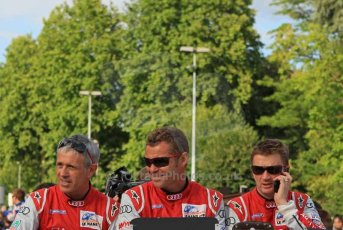 © Octane Photographic 2011. Le Mans Drivers' parade, 10th June 2011. Digital Ref : 0078LW7D5150