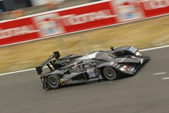© Octane Photographic 2011. Le Mans finish line and podium - Sunday 11th June 2011. La Sarthe, France. Digital Ref : 0263cb1d3538
