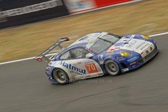 © Octane Photographic 2011. Le Mans finish line and podium - Sunday 11th June 2011. La Sarthe, France. Digital Ref : 0263cb1d3609