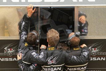 © Octane Photographic 2011. Le Mans finish line and podium - Sunday 11th June 2011. La Sarthe, France. Digital Ref : 0263lw7d7594
