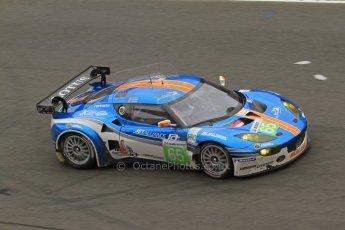 © Octane Photographic 2011. Le Mans finish line and podium - Sunday 11th June 2011. La Sarthe, France. Digital Ref : 0263lw7d7963