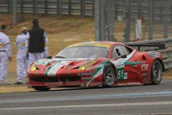 © Octane Photographic 2011. Le Mans Race - Saturday 10th June 2011. La Sarthe, France. Digital Ref : 0112cb7d7390