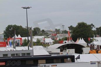 © Octane Photographic 2011. Le Mans Race - Saturday 10th June 2011. La Sarthe, France. Digital Ref : 0112cb7d7425