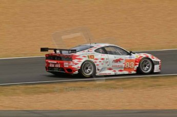 © Octane Photographic 2011. Le Mans Race - Saturday 10th June 2011. La Sarthe, France. Digital Ref : 0112LW7D5796