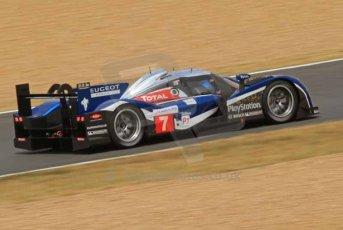 © Octane Photographic 2011. Le Mans Race - Saturday 10th June 2011. La Sarthe, France. Digital Ref : 0112LW7D5870