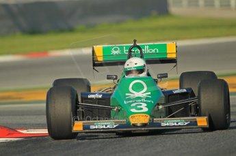 © Octane Photographic Ltd. 2011 Masters Racing Espiritu de Montjuic, April 8th 2011. Grand Prix masters, Historic Formula 1 racing. Digital Ref : 0042CB1D0201