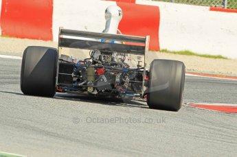 © Octane Photographic Ltd. 2011 Masters Racing Espiritu de Montjuic, April 10th 2011. Grand Prix masters, Historic Formula 1 racing. Digital Ref : 0042CB1D1283