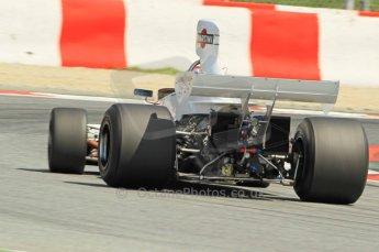© Octane Photographic Ltd. 2011 Masters Racing Espiritu de Montjuic, April 10th 2011. Grand Prix masters, Historic Formula 1 racing. Digital Ref : 0042CB1D1289