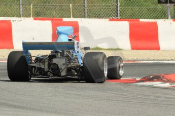 © Octane Photographic Ltd. 2011 Masters Racing Espiritu de Montjuic, April 10th 2011. Grand Prix masters, Historic Formula 1 racing. Digital Ref : 0042CB1D1315