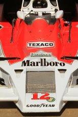 © Octane Photographic Ltd. 2011 Masters Racing Espiritu de Montjuic, April 8th 2011. Ex-James Hunt McLaren M26, d'Anbsembourg. Grand Prix masters, Historic Formula 1 racing. Digital Ref : 0042CB7D0382